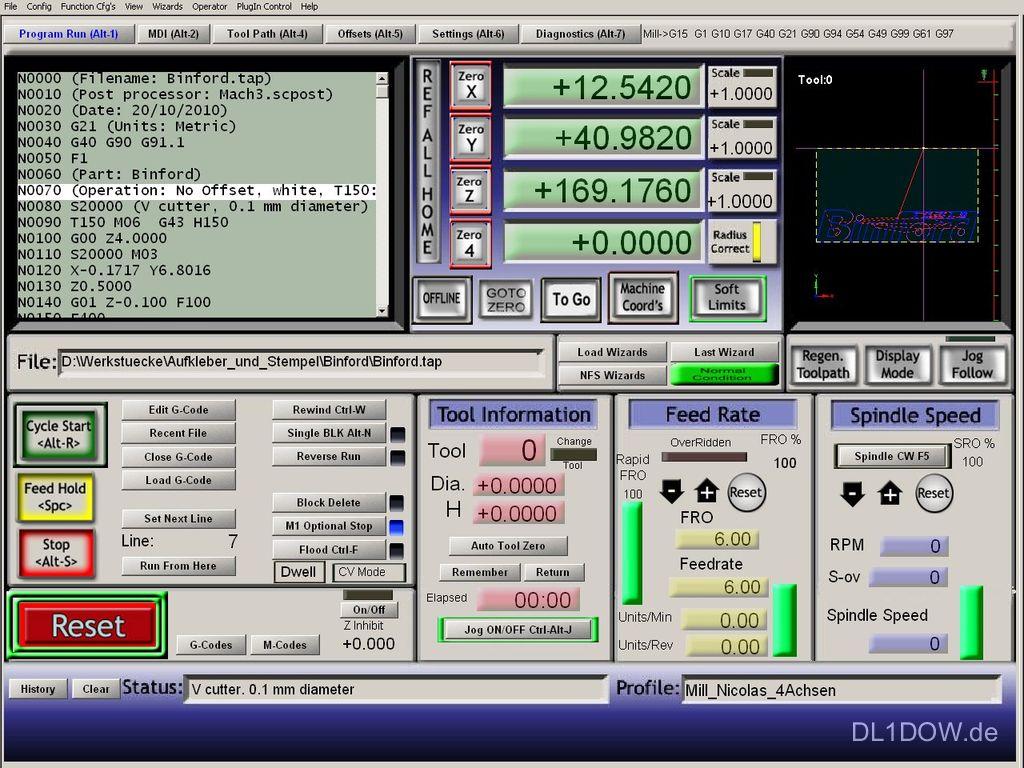 maschinensteuerung pc software